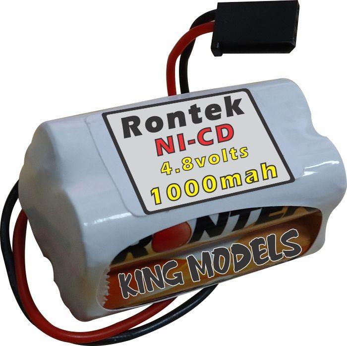 Pack Bateria Nicd 4,8v - 1000mah Rontek - Modelo Torre  - King Models