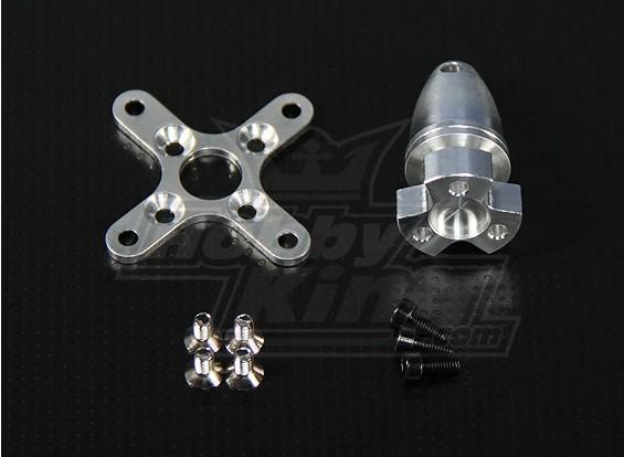 Kit Eixo / Spinner / Montante Para Motores Ntm Série 28  - King Models