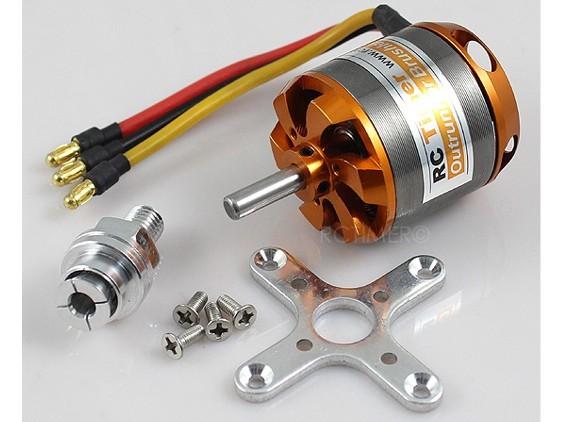 Motor Brushless Rctimer 3542/6- 1000kv 555w+montante/spinner  - King Models