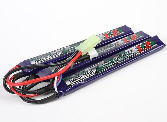 Bateria De Lipo Nano-tech - 3s-11.1v-1200mah - 15/25c  - King Models