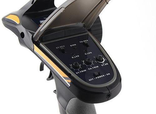 Rádio Pistola 2.4ghz 2ch - Hk-gt2e - Afhds - Com Receptor  - King Models