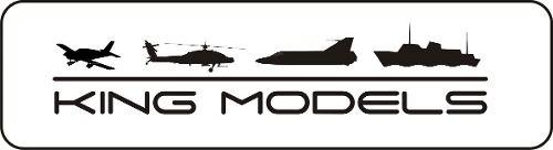 Trem De Pouso De Fibra De Carbono - Aeros 35cc - 420 X 185mm  - King Models
