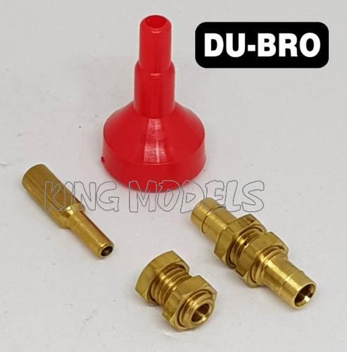 Kit P/ Galão De Combustível Abastecimento Aero Dubro DUB192  - King Models