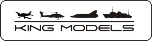 Spinner Great Planes 3 Bipa ( 76mm ) Preto - Base Alumínio  - King Models