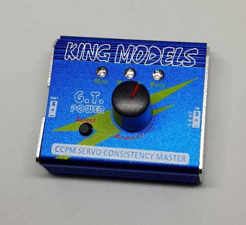 Teste De Servos E Speed Gt Power - Até 3 Servos Simultâneos!  - King Models