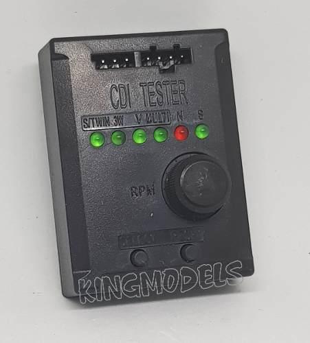 Teste De Ignição P/ Motores De Aeros Rcxel - Até 9 Cilindros  - King Models