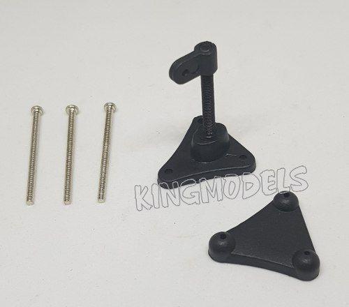 Horn Com Ajuste De Altura Até 34mm Aeros Larga Escala - 2pçs  - King Models