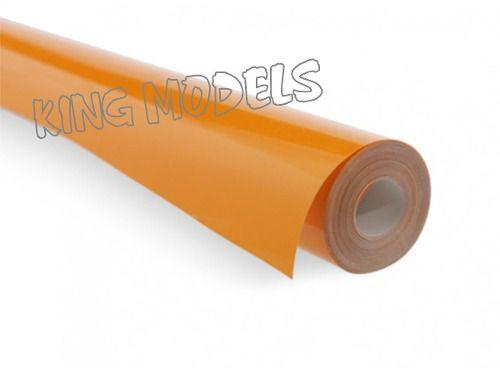 Rolo 5xmts Chinakote ( Monokote )- Amarelo Forte -640mm  - King Models
