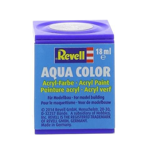 Tinta Revell - Aqua Color - Cod 36107 - Preto Brilh. -18ml  - King Models