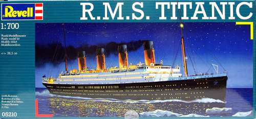 Revell - Rms Titanic - Escala 1:700 - Level 3 - Colecionador  - King Models