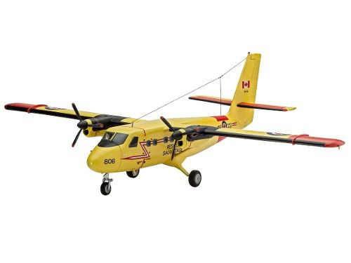 Revell - Dhc-6 Twin Otter - Escala 1:72 - Level 3  - King Models