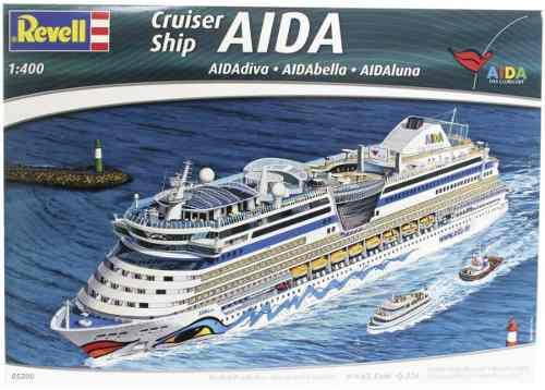 Revell - Cruiser Chip Aida - Escala 1:400 - Level 5 - 5230  - King Models