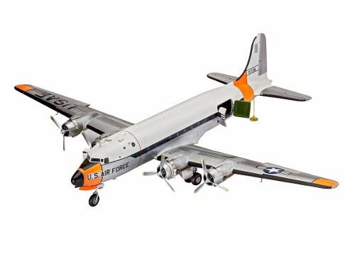 Revell - C-54d Skymaster - Esc1:72- Level 5 - Colecionador  - King Models