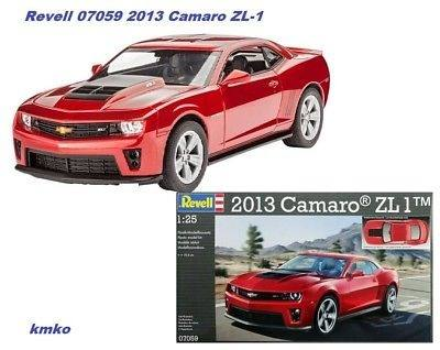 Revell - 2013 Camaro - Escala 1:25 - Level 3 - Kit Completo  - King Models