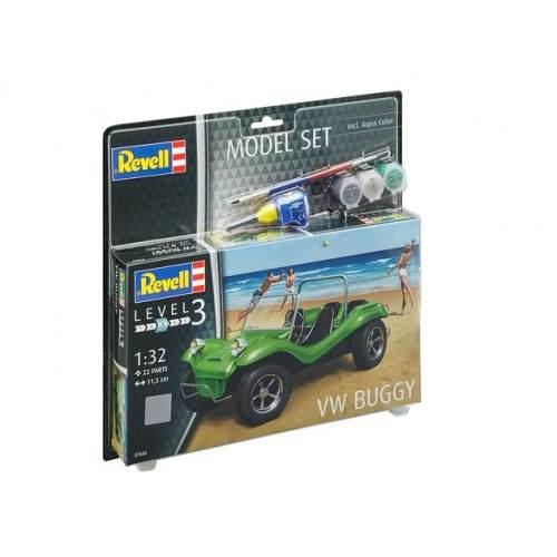 Revell - Vw Buggy - Esc. 1:32 - Nivel 3 - Kit Completo  - King Models