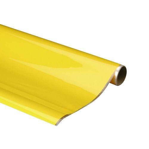 Monokote Topflite (genuino) - Amarelo Sólido - Topq0203  - King Models