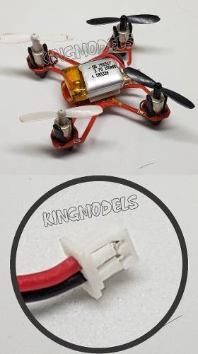 Bateria Lipo 3.7v 100mah Mini Drones Cherson E Outros!!!!  - King Models