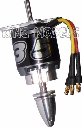 Motor Brushless Ntm 3536-1400kv/550w - Aeros Até 1.6kg - King Models