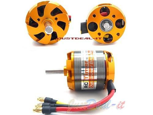 Motor Brushless Rctimer 3542/6- 1250kv 580w+montante/spinner  - King Models