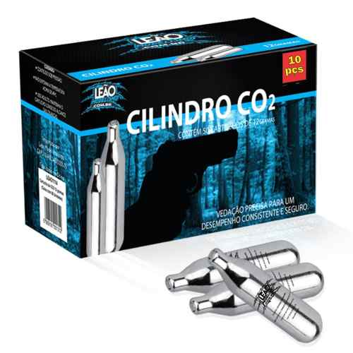 Cilindro De Co2 Para Pistola Airsoft Paintball - 10pçs - Top  - King Models