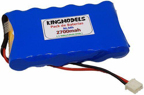 Pack Bateria Nimh 7.2v - 2700mah - Rádios Frsky Taranis  - King Models