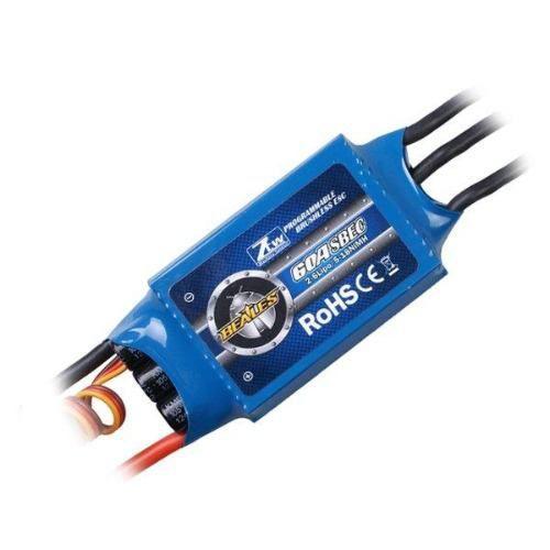 Speed Control Ztw 60a Com Super Bec Integrado 3a ++ Brinde!!  - King Models