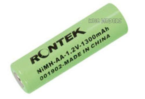 Pilha Recarregável Aa 1300mah 1,2v - Nimh - C/2 Rontek  - King Models