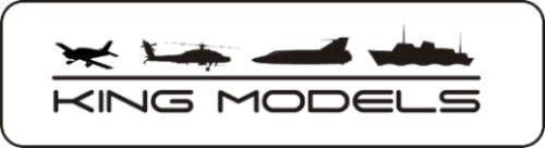 "Spinner Dubro 2"" - 51mm / Bi-pá / Branco - Dub272  - King Models"