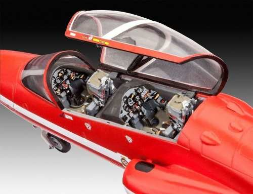 Revell - Bae Hawk T.1 Red Arrows - Esc1:72- Level 3  - King Models