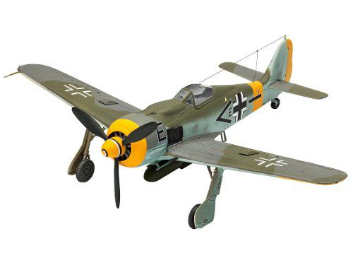 Revell - Fockewulf F8 190 Esc.1:72 Nivel 3 - Model Set 63898  - King Models