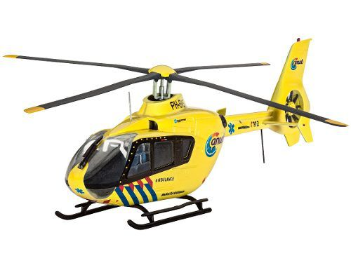 Revell - Airbus Helicopter Ec135 - Escala 1:72 - Level 3  - King Models