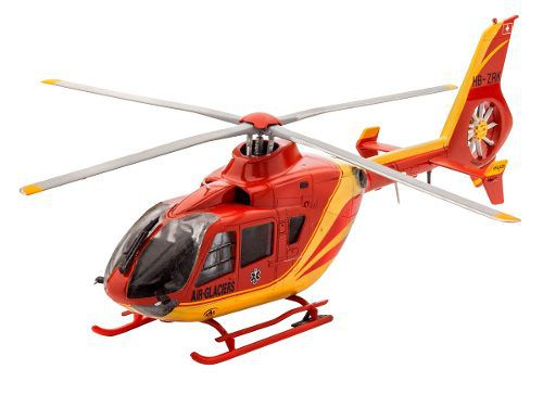Revell - Airbus Helicopter Ec135 - Escala 1:72 - Nv4 - Red  - King Models