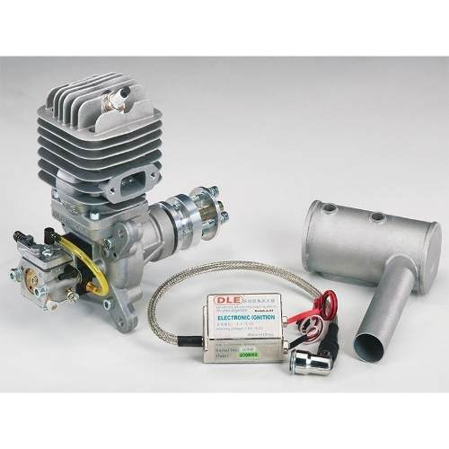 Motor Gasolina Dle 55cc - Walbro - Escape Lateral  - King Models