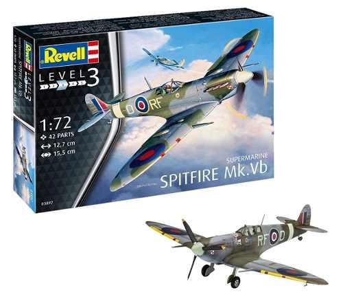 Revell - Supermarine Spitfire Mk.vb - Esc1:72- Level 3  - King Models