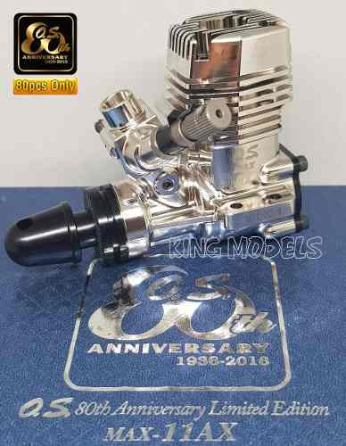 Motor Os Engines 11ax - Platinum - 80anos - Série Especial!! - King Models