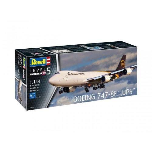 Revell - Boeing 747-8f Ups - Escala 1:144- Level 5 - 3912  - King Models