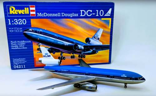 Revell - Mcdonnell Douglas Dc-10 Esc1:320 Level 5 Klm  - King Models