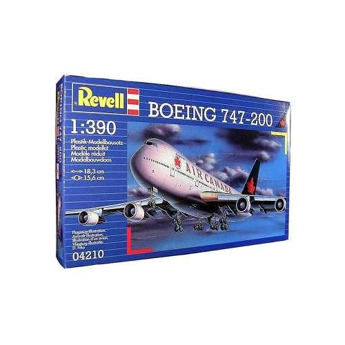 Revell - Boeing 747-200 Air Canada Esc 1:390 Level 3 Klm  - King Models