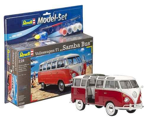 Revell - Vw T1 Samba Bus Esc1:24 - Nv.5 Model Set - Completo  - King Models