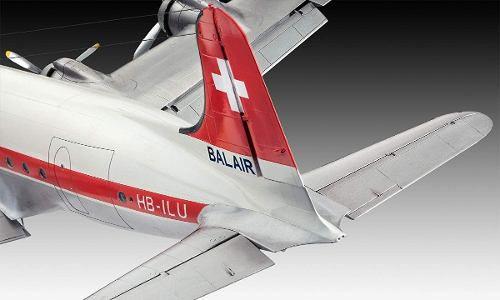 Revell - Dc-4 Balair / Iceland Airways Escala 1:72 Level 5  - King Models