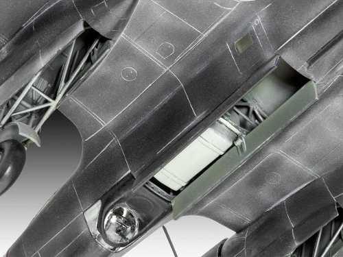 Revell - Dornier Do17 Z-10 Kauz - Escala 1:72 - Level 4  - King Models