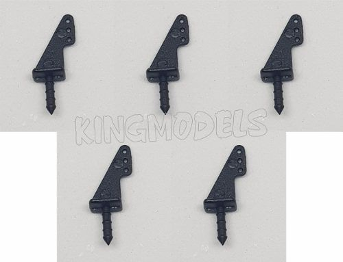 Conjunto De 5 Micro Horns Aeros Pequeno Porte - Park Flyer  - King Models