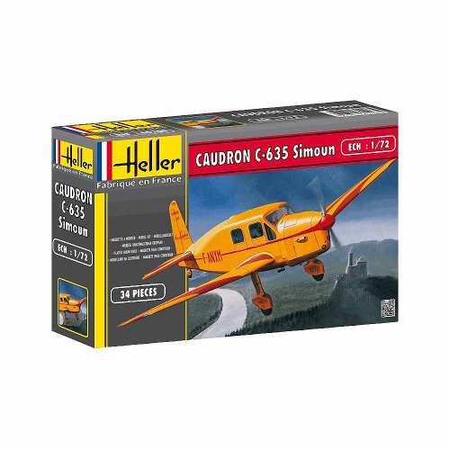 Heller - Caudron C-635 Simoun - Escala 1:72 - 34pçs  - King Models