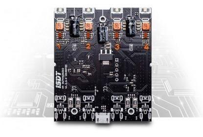 Carregador Inteligente Isdt A4 - Nimh / Nicd / Liion / Life  - King Models