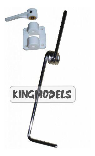 Bequilha Dianteira C/suporte Aero Elétrico / Glow 120mm 960  - King Models