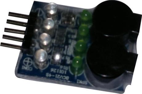 Alarme Sonoro(buzzer) Para Baterias De Lipo De 2 A 4s  - King Models