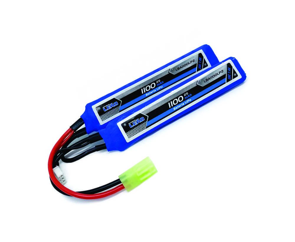 Bateria De Lipo - Airsoft Leão - 2s- 7.4v - 1100mah - 20c  - King Models