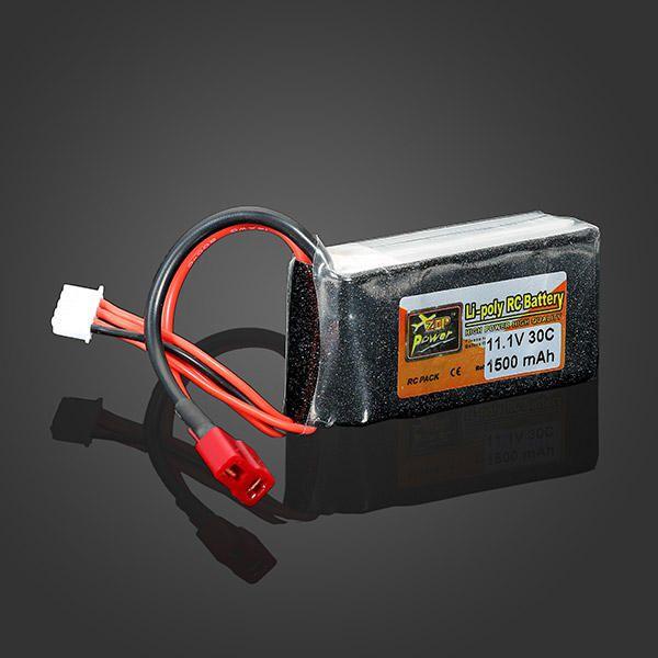 Bateria Lipo Zop -3s 11.1v - 30c - 1500mah - Aero/heli   - King Models
