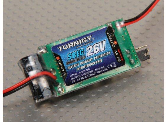 Bec Regulador De Voltagem - Turnigy - 5-6v - 5a - Até 26v  - King Models
