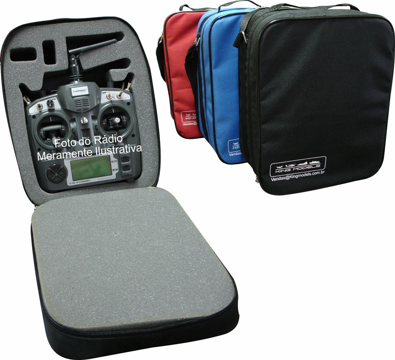 Bolsa Para Rádio Transmissor De Aeromodelos - Com Alça - 5x cores  - King Models